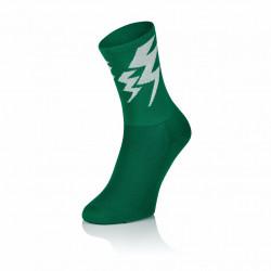 Lightning Socks - Solid Green (2 paar)