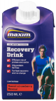 Aanbieding Maxim Recovery Drink - Ready to Drink - Strawberry - 250 ml (THT 4-3-2021)