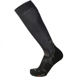 Mico Oxi-Jet Compression Run Socks Medium Weight - Zwart