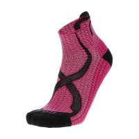 Mico Trail Run Socks Light Weight Argento XT2 - Fuchsia