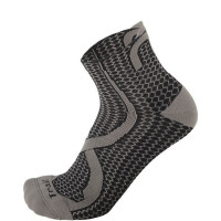 Mico Trail Run Socks Light Weight Argento XT2 - Zwart