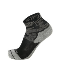 Mico Trail Run Socks Medium Weight Argento XT2 - Zwart