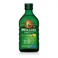 Möller's Omega-3 - Citroen - 250 ml