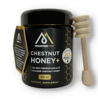 Mountaindrop - Raw Chestnut Honey & 100% Mumijo Shilajit