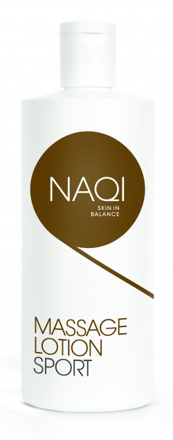 Aanbieding NAQI Massage Lotion Sport - 200 ml - 1 + 1 gratis