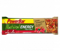 Aanbieding PowerBar Natural Energy Bar - Strawberry/Cranberry - 40 gram