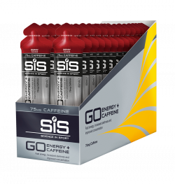 Aanbieding SiS GO+ Caffeine Gel - Berry - 30 x 60 ml (THT 31-5-2020)