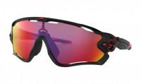 Oakley Jawbreaker Zonnebril Matte Black - Prizm Road Lens