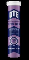 Aanbieding OTE Hydro Tab - Blackcurrant - 20 tabletten (THT 31-3-2019)