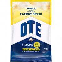 Aanbieding OTE Energy Drink - Vanilla - 1,2 kg. THT 2-2019