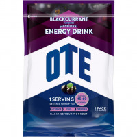 Aanbieding OTE Energy Drink - Blackcurrant - 1,2 kg (THT 31-05-2019)