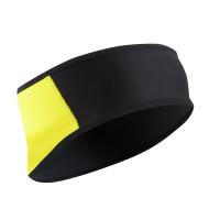Pearl Izumi Barrier Hoofdband - Zwart/Geel