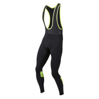 Pearl Izumi Pursuit Thermal Fietsbroek Bretels Lang - Zwart/Geel