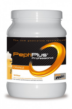Aanbieding Peptiplus Sportdrank - Orange - 760 gram (THT 31-5-2019)