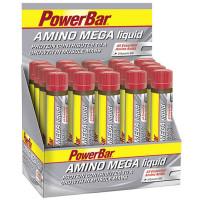 Aanbieding PowerBar Amino Mega Liquid - 20 x 25 ml (THT 31-12-2019)