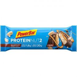Aanbieding PowerBar Protein Nut2 Bar - Milk Chocolate Peanut - 60 gram (THT 31-03-2019)