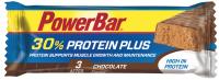 Aanbieding PowerBar Protein Plus Bar - Chocolate - 55 gram (THT 31-05-2019)