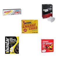 Proefpakket Energy Tablets met 4 producten van verschillende merken
