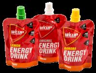 Proefpakket WCUP Energy Drink met 6 drinkgels