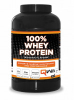QWIN 100% Whey Protein - 2400 gram