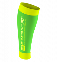Compressport R2 v2 Compressiekousen - Fluo Green