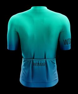 Winaar Sea & Sky Fietsshirt korte mouw - Blauw-Groen