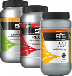SiS GO Energy + SiS GO Electrolyte + SiS REGO Rapid Recovery + 10 gratis gels of repen