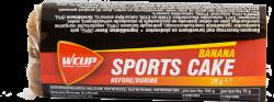 Aanbieding WCUP Sports Cake - Banana - 75 gram (THT 28-2-2019)