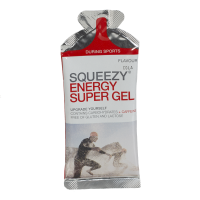 Aanbieding Squeezy Energy Super Gel - Lemon - 33 gram (THT 30-4-2019)