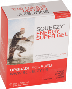 Squeezy Energy Super Gel - 12 x 33 gram