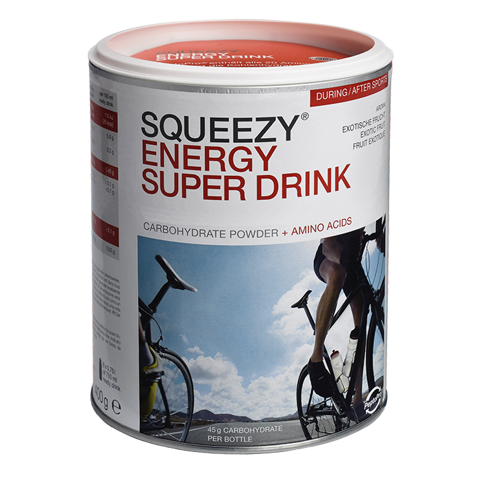 Squeezy Energy Super Drink Lemon Yoghurt 400 Gram