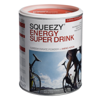 Aanbieding Squeezy Energy Super Drink - Grapefruit - 400 gram (THT 30-4-2020)