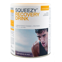 Aanbieding Squeezy Protein Energy Drink - 400 gram (THT 30-11-2020)