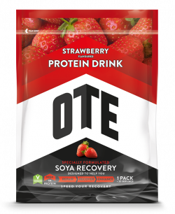 OTE Recovery Soya Drink - Strawberry - 1 kg