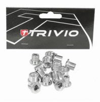 Trivio Kettingbladbouten Set MTB Zilver