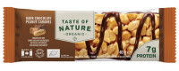 Taste of Nature - Dark Chocolate Peanut Caramel - 1 x 40 gram