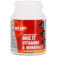 WCUP Multi Vitaminen & Mineralen - 60 tabletten