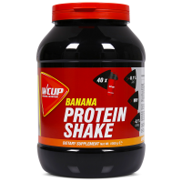 Aanbieding WCUP Protein Shake - Banana - 1 kg (THT 13-3-2021)