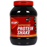Aanbieding WCUP Protein Shake - Cappuccino - 1 kg (THT 30-6-2019)