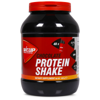 Aanbieding WCUP Protein Shake - Chocolate - 1 kg (THT 30-6-2019)