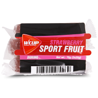 Aanbieding WCUP Sports Fruit - Strawberry - 3 x 25 gram