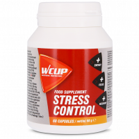 Aanbieding WCUP Stress Control - 60 capsules (THT 30-6-2020)