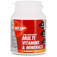 Aanbieding WCUP Multi Vitaminen & Mineralen - 60 tabletten (THT 31-3-2020)