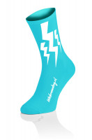 Lightning Socks - Fluo Blauw - 2 + 1 gratis