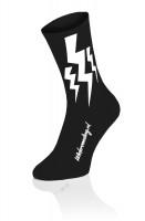 Lightning Socks - Zwart - 2 + 1 gratis