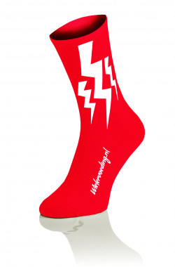 Lightning Socks - Rood